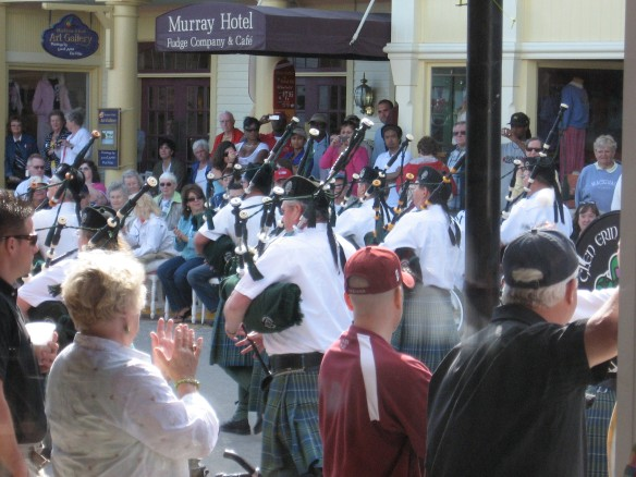 Bagpipers' band