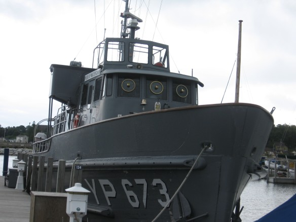 The Pride of Michigan, a research vessel and cadet training boat.