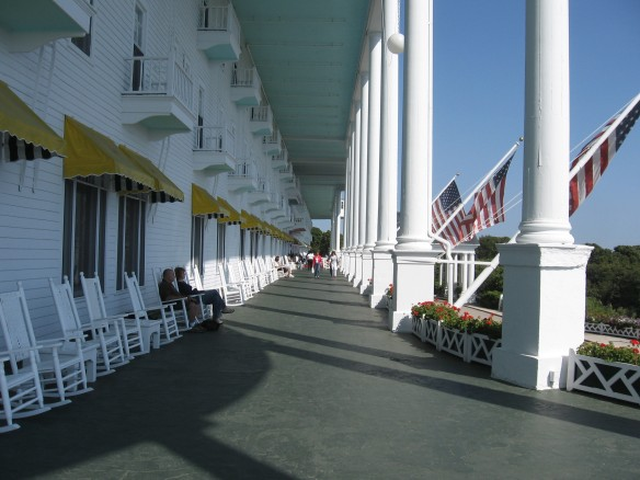 Reported to be the longest porch in the world.