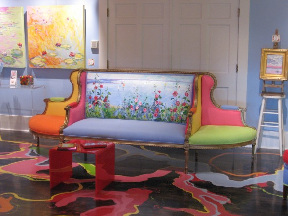 Bright colors abound in the Oil Paintings by Marlee Gallery.