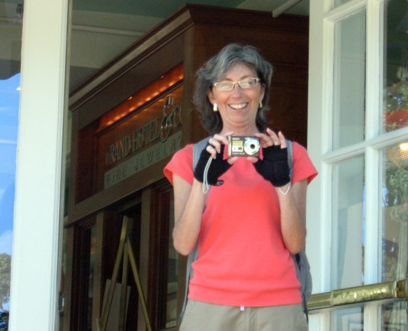 My friend Jill, who loves to take pictures of me taking pictures.