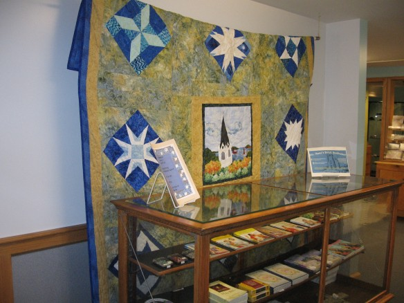 "The ""Star of Mackinaw"" quilt"