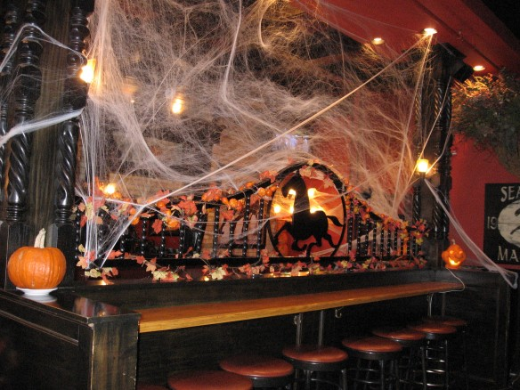 The Seabiscuit Cafe is having its big Halloween party on Saturday also.