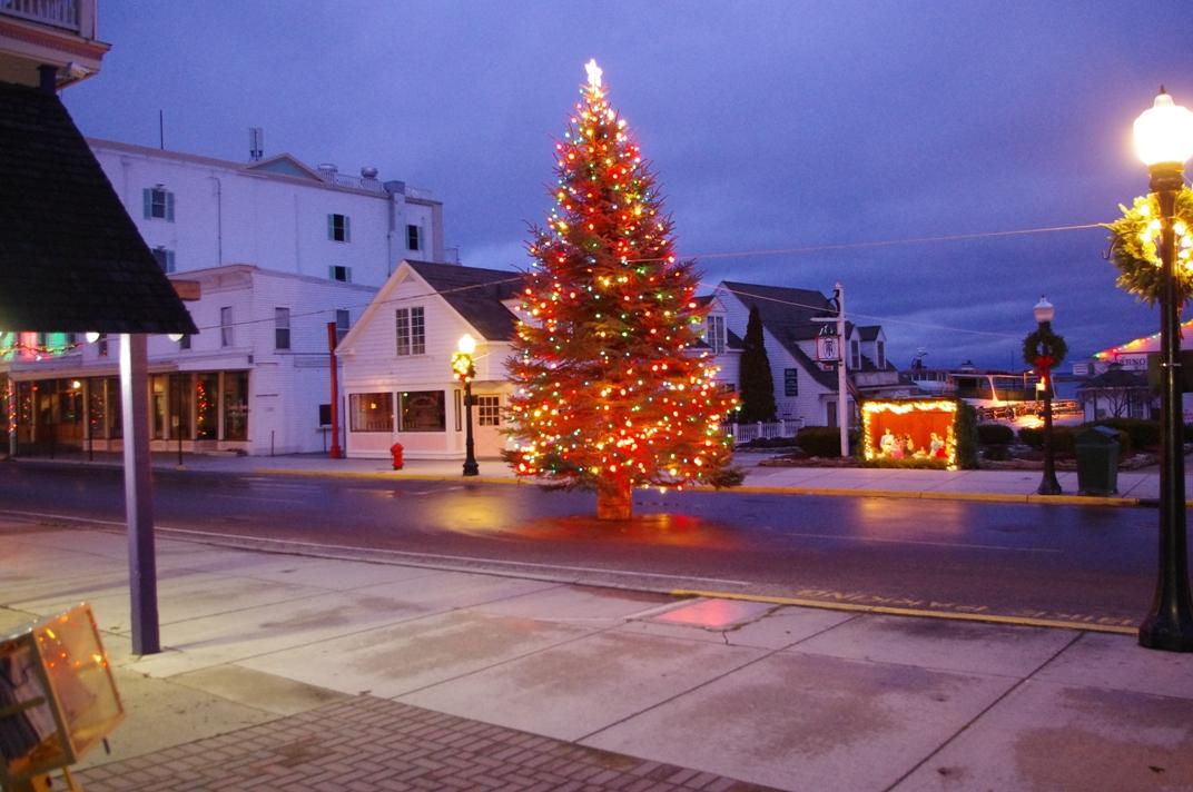 Christmas Mackinac Island