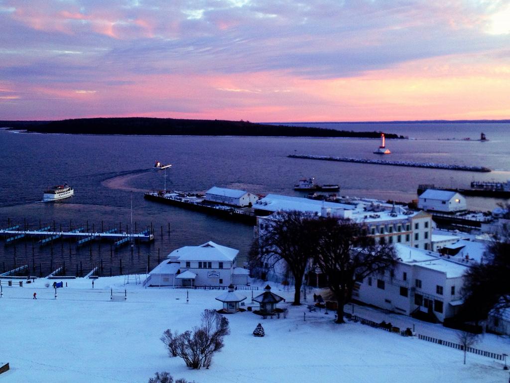 Mackinac Island Winter Update Vol 7 1 11 2012 Bree S