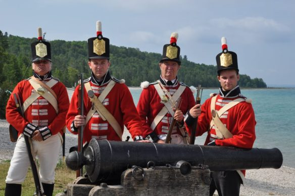 1812 : British Capture Mackinac Island