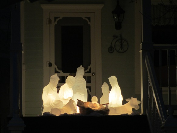 "A beautiful Nativity Scene at Metivier Inn . . . ""all is calm, all is quiet"".  (Photo: Nicole Doud)"