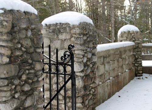 One of the many St. Anne's Cemetery gates . . .