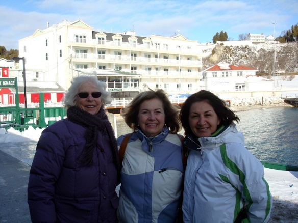 Many thanks, Joan and Orietta, for making our afternoon on the Island so much fun!