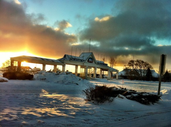Shepler's Gateway to Mackinac Island entrance.  (Photo: Shepler's Ferry)