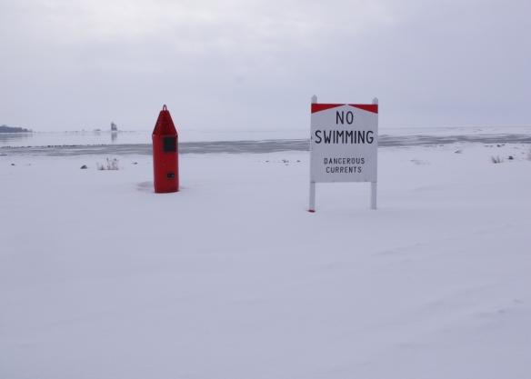 No swimming?  No kidding!