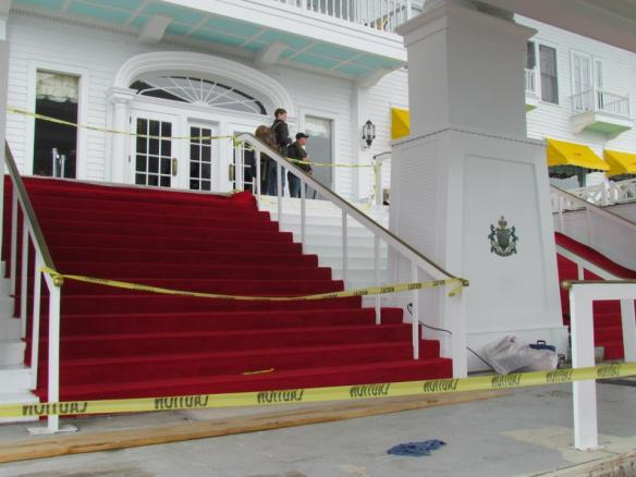 . . . and the red carpet is rolled out for the Friday, May 1 Grand Opening!  (Photo credit for this and above photo: Grand Hotel)