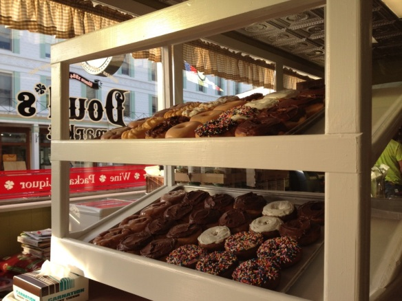 Oh Lordy!  This year Doud's is baking, and donuts will be available warm and oh so yummy every morning! (Photo: Sonnet Quinn)