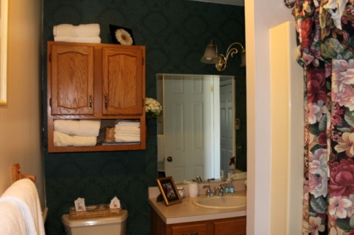 Second floor guest bathroom