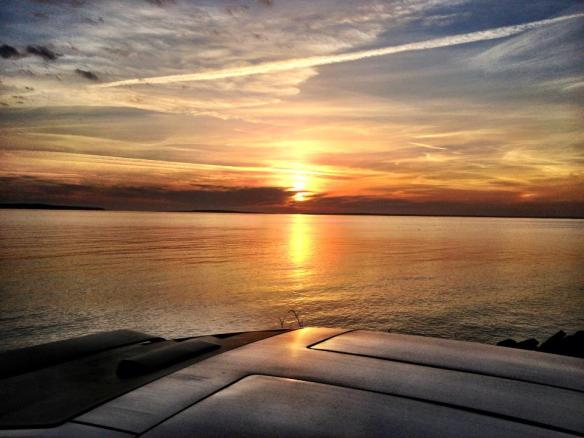Sunrise - May 3.  (Photo: Patrick Conlon)