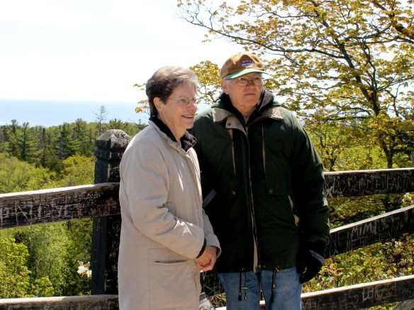 Lowell and Faye at Lookout Point.