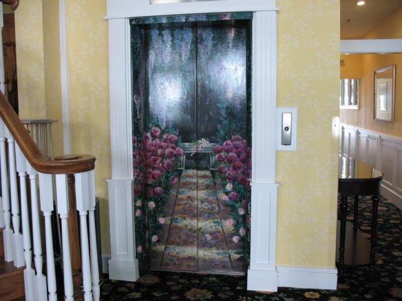 Lilac doors