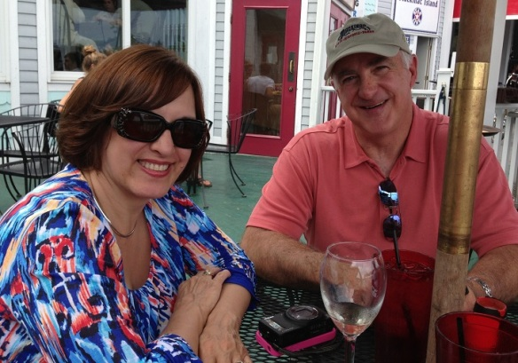 We met up with Patty and Buzz at Mary's Bistro for lunch . . .