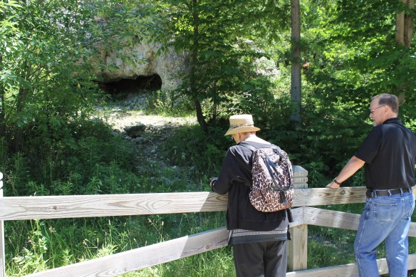 Since it was on the way, we stopped by Skull Cave . . .