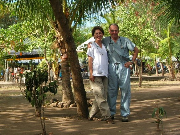 Steve and Orietta - from a previous trip to Africa