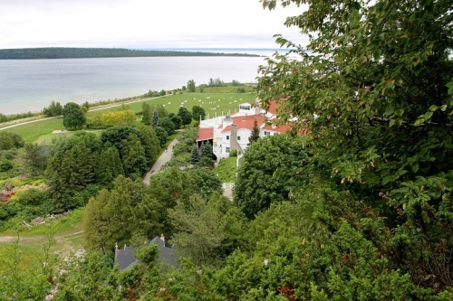 View of Mission Point from Robinson's Folly.
