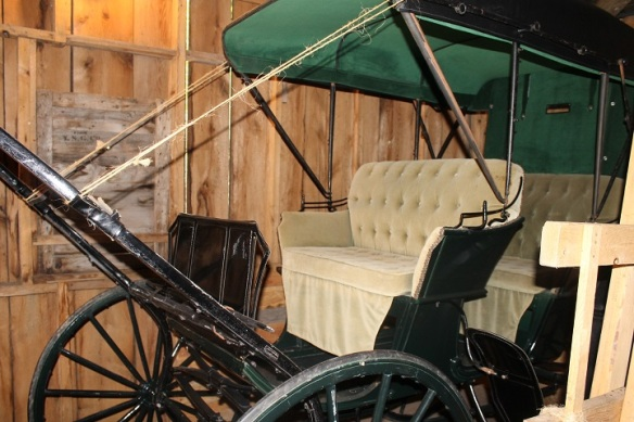 . . . like this vintage carriage . . .