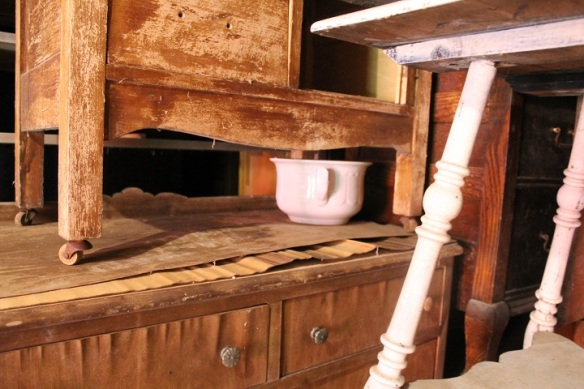 . . . lots more furniture - and a chamber pot.