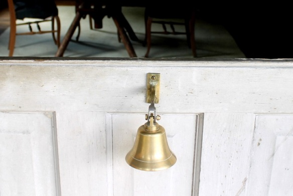 Maybe a dinner bell will ring calling you to breakfast, or at the very least it will announce your entrance into the lodge.