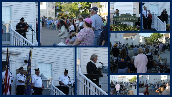The Patriots Day program was filled with speakers who spoke eloquently and emotionally about the bravery of Americans, not only on 9/11, but during all the wars in which we've fought.  (Click on individual photos to enlarge.)