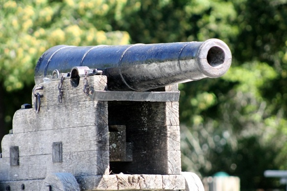 You just can't leave British Landing without one photo of the cannon.