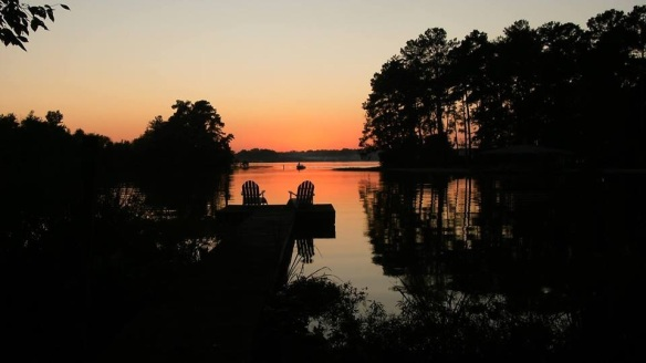 Our friend Samile posted this last week - a wonderful Lake Blackshear sunset.  Made me VERY homesick for south Georgia.  We are so blessed to live in two such awesomely beautiful places on this earth.  Thank you, Lord.