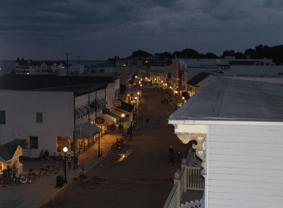 Main Street - always beautiful at night.