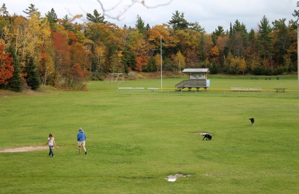We finally called a halt to the playtime and walked home, leaving behind another October memory from Mackinac.