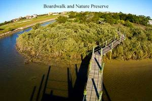 Nature walk at the back of Sunlet Inlet that leads . . .