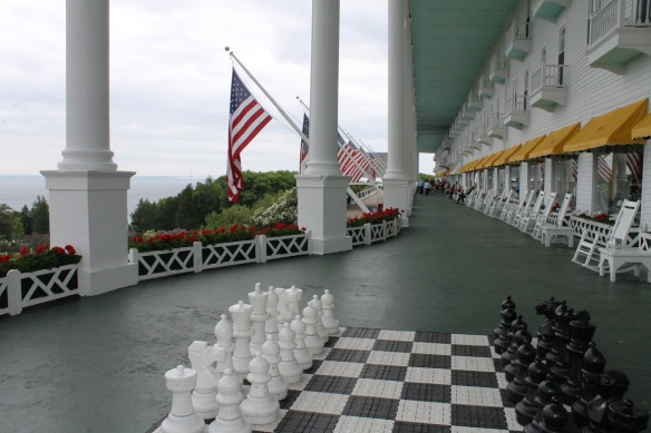Have any of my readers ever played chess with these life-size chess pieces?