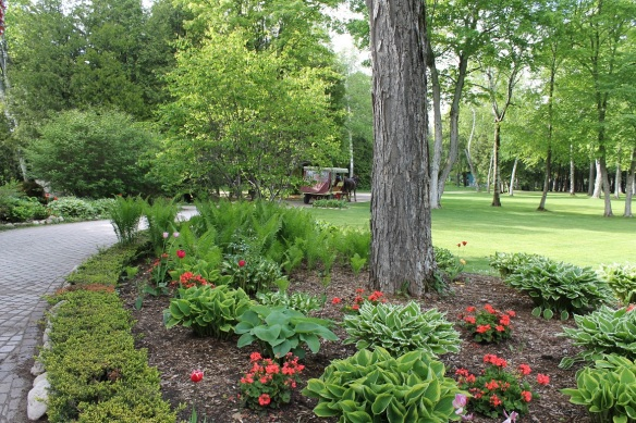 . . . and, of course, a post about the pure beauty of the property where the Inn and the Summer Suites are located.