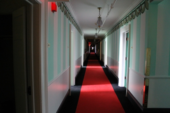 ". . . and remember the movie ""the Shining""? Chill bumps!"
