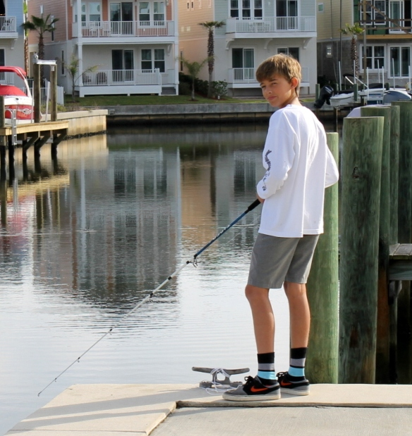 But - honestly - the reason we moved is so we can occasionally stand and watch you fish . . .