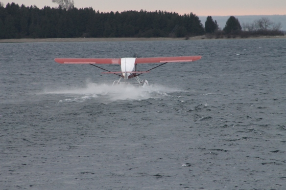 Taking off in those conditions meant a very bumpy ride until the wheels lifted . . .