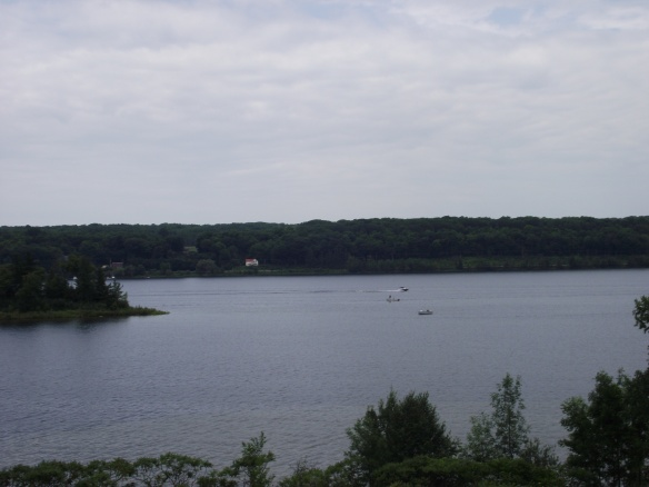 "Beautiful Penetanguishene Bay in southern Ontario is where Deborah calls home. From Deborah: ""This is part of Georgian Bay which is part of Lake Huron. This bay would have been one of the first places my ancestors set foot after leaving Drummond Island in 1829. This spot connects me to Mackinaw City and Mackinac Island in a way I can explain."""