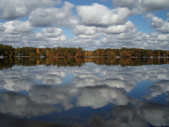 Gail is from Legend Lake in NE Wisconsin. Those clouds are beautiful!