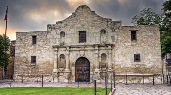 My buddy Jason is home from Afghanistan, and he and his wife now live in San Antonio TX, home of the Alamo.