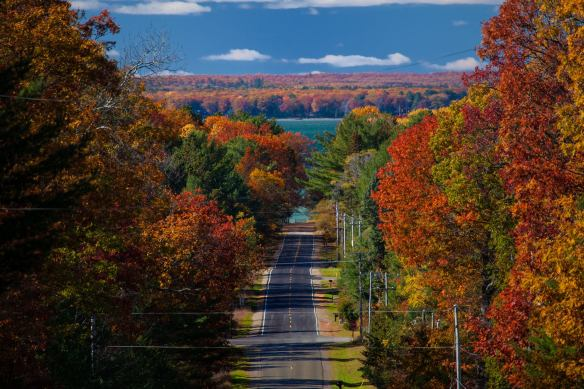 Karen lives in Higgins Lake MI, named by National Georaphic Magazine as the 7th Most Beautiful Lake in the World. Higgins Lake is about an hour south of the Mackinac Bridge.