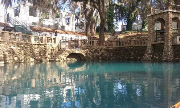 I had to smile when another reader from Albany GA sent in a photo of Radium Springs!