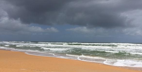 We've had a couple of days of threatening rain . . .