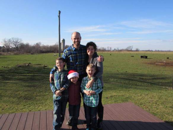 This is Sarah and her beautiful family from Richland MI. Sarah found the blog on Google 4 years ago. She's been going to Mackinac since she was a child.