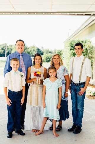 Sterling Slaven and his beautiful family - Glenpool OK.