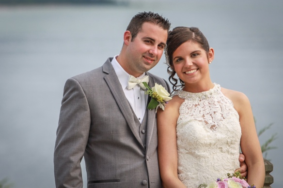 This is Taylor and Derrick Franckowiak from Berkley MI. This beautiful couple got married last summer at The Chippewa on the day the power went out (I remember it well). Taylor went on to say the Chippewa staff handled everything, and they never wou