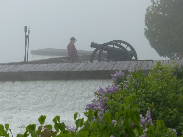 —And whether you see them through the fog (Photo: Clark Bloswick) . . .