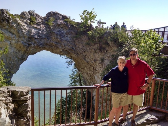 Blog reader Jan Weir and her husband Don (Harbor Springs MI and Indianapolis IN) visited the island for several days a week or so ago. This photo and the next six are from Jan.